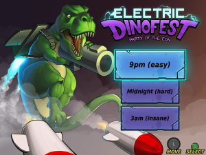 Electric Dinofest Title